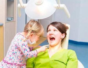 ребенок стоматолог